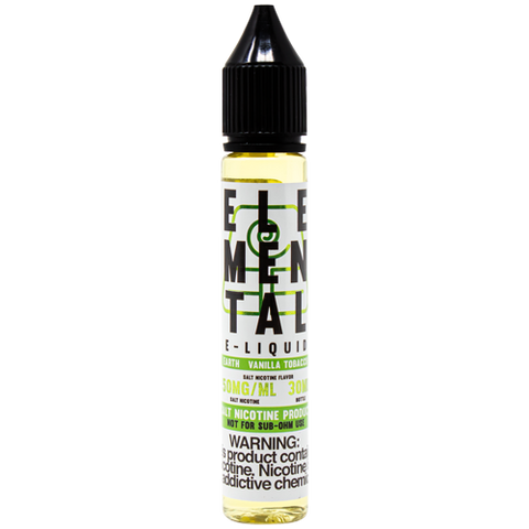 Elemental E-Liquid Earth Salt 30ml