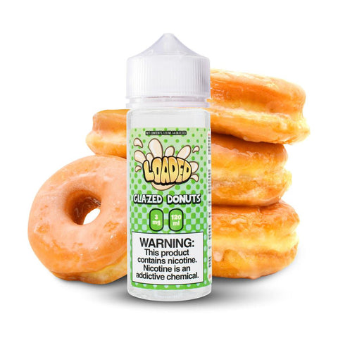 LOADED - GLAZED DONUT - 120ML