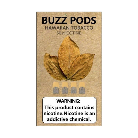 BUZZ PODS FOR JUUL DEVICE- HAWAIIAN TOBACCO