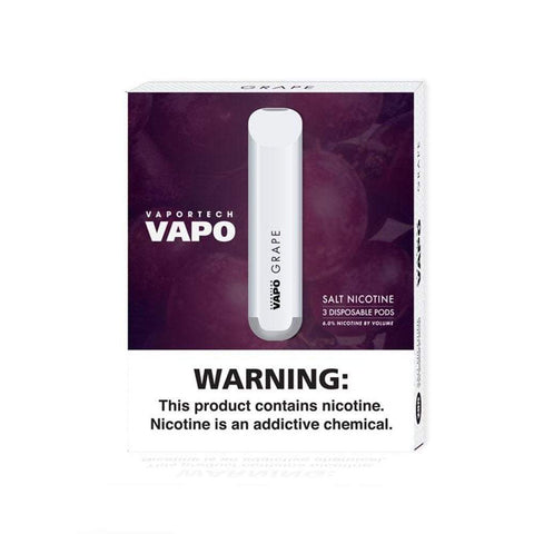 Vaportech Vapo Disposable - Grape