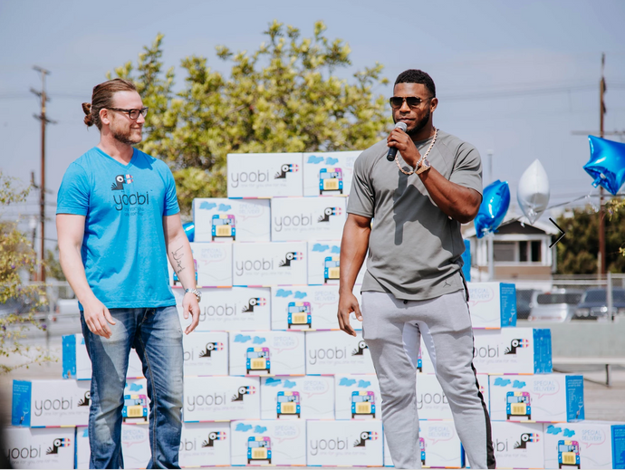 Yoobi and Yasiel Puig Team Up To Distribute School Supplies