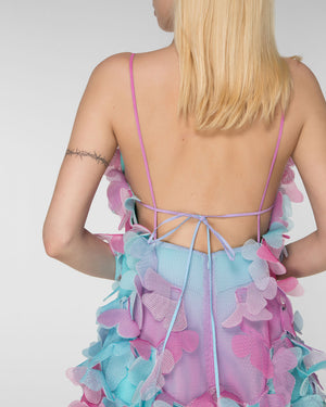 "Shoulder strap ""butterfly"" dress"