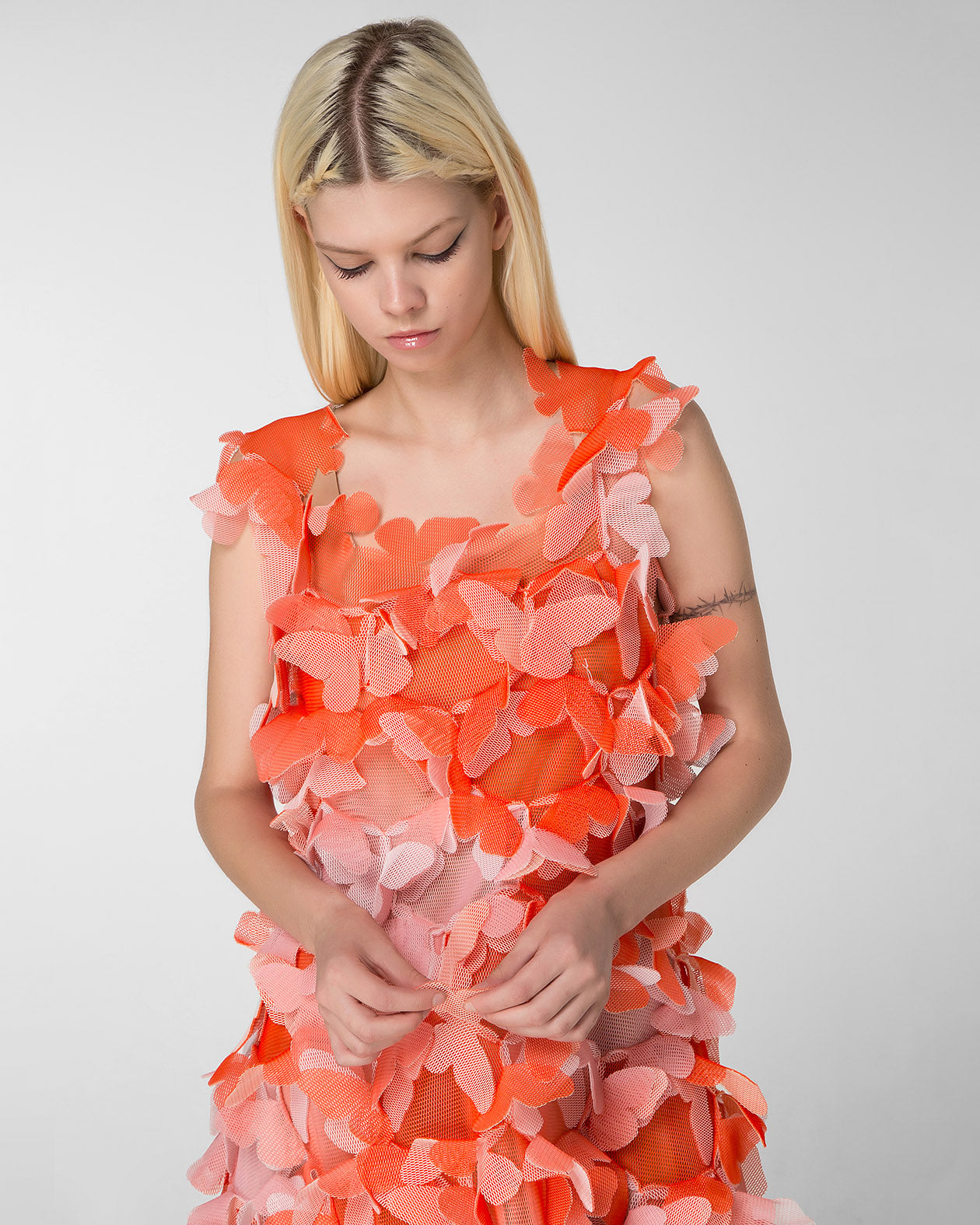 "Appliqued ""butterfly"" dress"