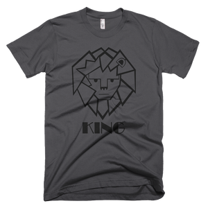 King T-Shirt (Asphalt)