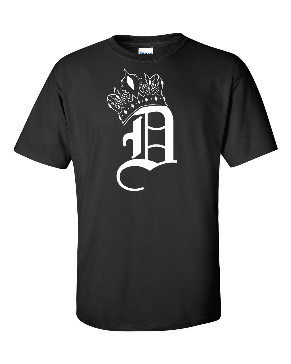 Crown D T-Shirt (Black)