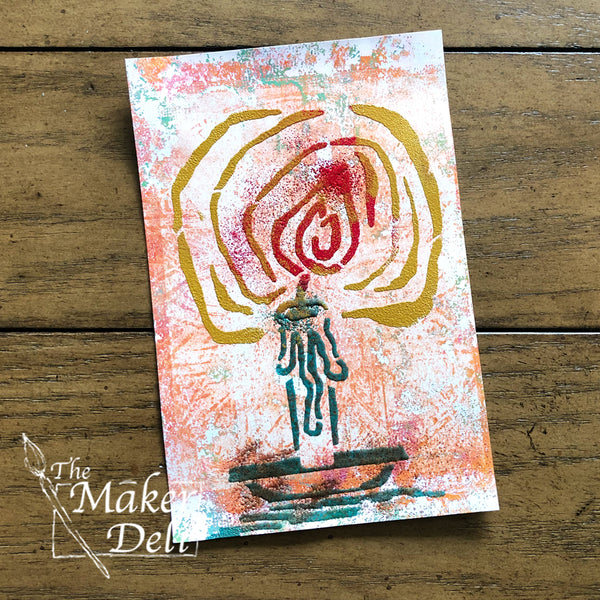 Gwen Lafleur: Boho Blends embossing powder
