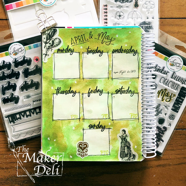 Catherine Pooler: Daily Plan stamp