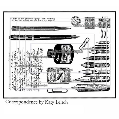 Katy Leitch: Correspondence stamp