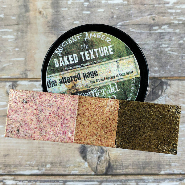 Seth Apter: Baked Texture Embossing Powder