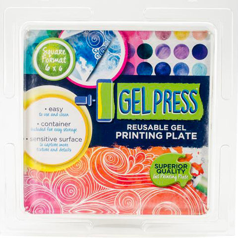 Gel Press Reusable Printing Plate