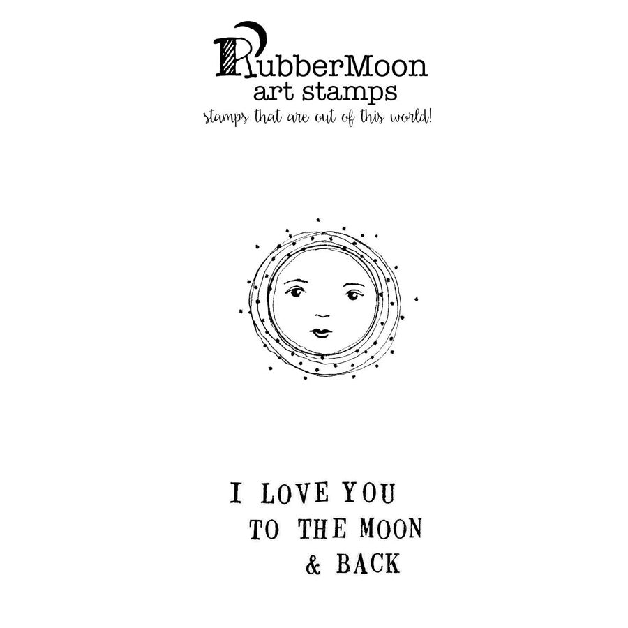 Kae Pea: To the Moon and Back Stamp Set