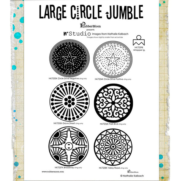 Nathalie Kalbach: Large Circle Jumble Set
