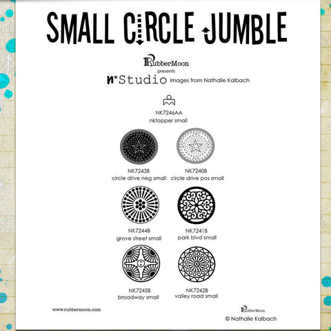 Nathalie Kalbach: Small Circle Jumble Set