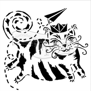 Marlene Meijer-van Niekerk: Mini Flying Cat stencil