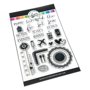 Catherine Pooler: Bullet Journal Basics stamp