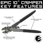 10 Inch Crimper Features