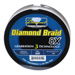 Diamond Braid Gen III Blue 300 Yard Spool