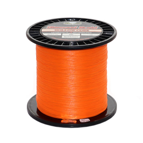 Diamond Hollow Core Braid Gen III Orange 600 Yard