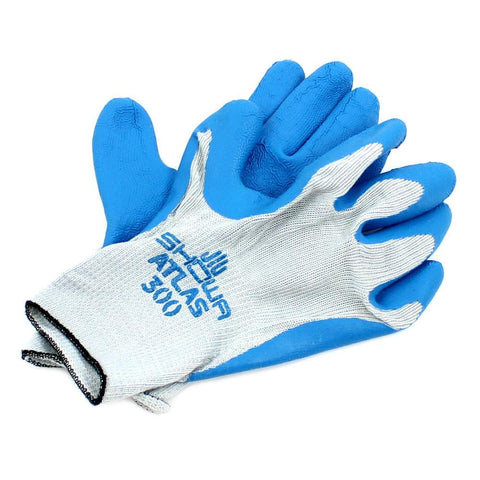 Non-Slip Gloves Latex Palms