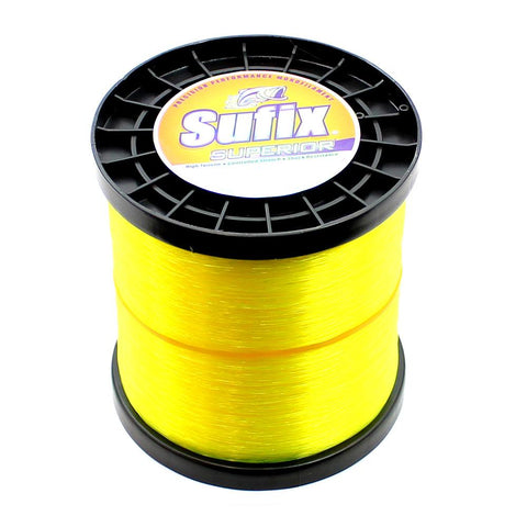 Sufix Superior Monofilament Fishing Line Hi-Vis 2.2lb Spool