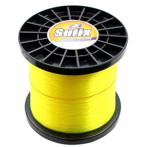 Sufix Superior Monofilament Fishing Line Hi-Vis 4.4lb Spool