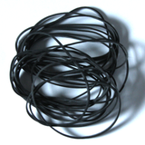 Fishing Rubber Bands - Black - UV Resistant