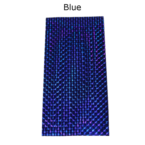 Photo of Blue Mylar Sheets