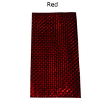 Photo of Red Mylar Sheets