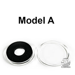 Model A Black Ring Air-Tite Coin Capsule