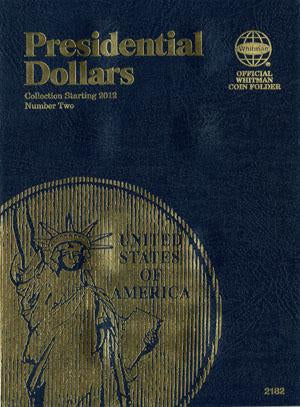 Whitman Folder Presidential Dollar #2