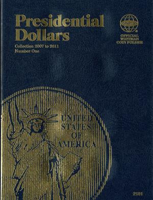 Whitman Folder Presidential Dollar #1