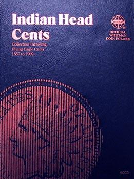 Whitman Folder: Indian Head Cents