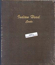 Dansco Album #7101 for Indian Head Cents: 1856-1909