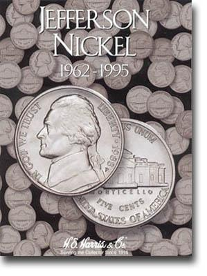 Harris Folder: Jefferson Nickels #2 1962-1995