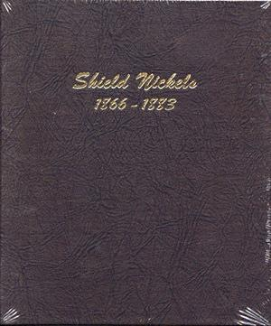 Dansco Album #6110 for Shield Nickels