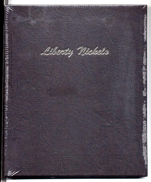 Dansco Album #7111 for Liberty Nickels