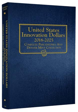 Whitman Albums: U.S. Innovation Dollars - 2018 -2025 P&D #4788