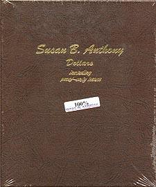 Dansco Album #8180 for Susan B Anthony Dollars: 1979-1999 w/proofs