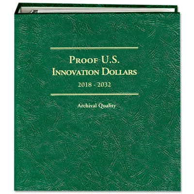 Littleton Album U.S. Innovation Dollars 2018-2032 Proof Only LCA83
