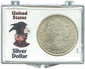 Marcus Snap Lock: Silver Dollars