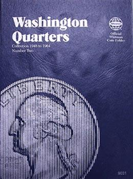 Whitman Folder: Washington Quarters #2: 1948-1964