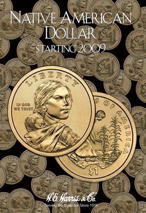 Harris Folder: Native American Dollars 2009- #3162