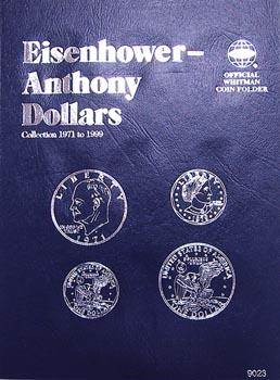 Whitman Folder: Eisenhower/Susan B Dollars- 1971-1999