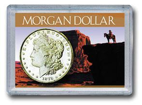 HE Harris Frosty Case: Morgan Dollars