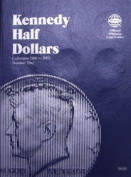 Whitman Folder: Kennedy Half Dollars #2: 1986-2003