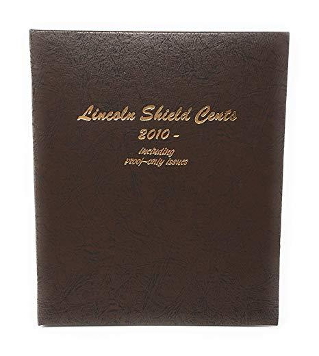 Dansco Album #8104 for Lincoln Shield Cents: 2010-2027 w/proofs
