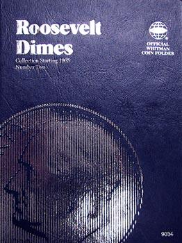 Whitman Folder: Roosevelt Dimes #2: 1965-2004