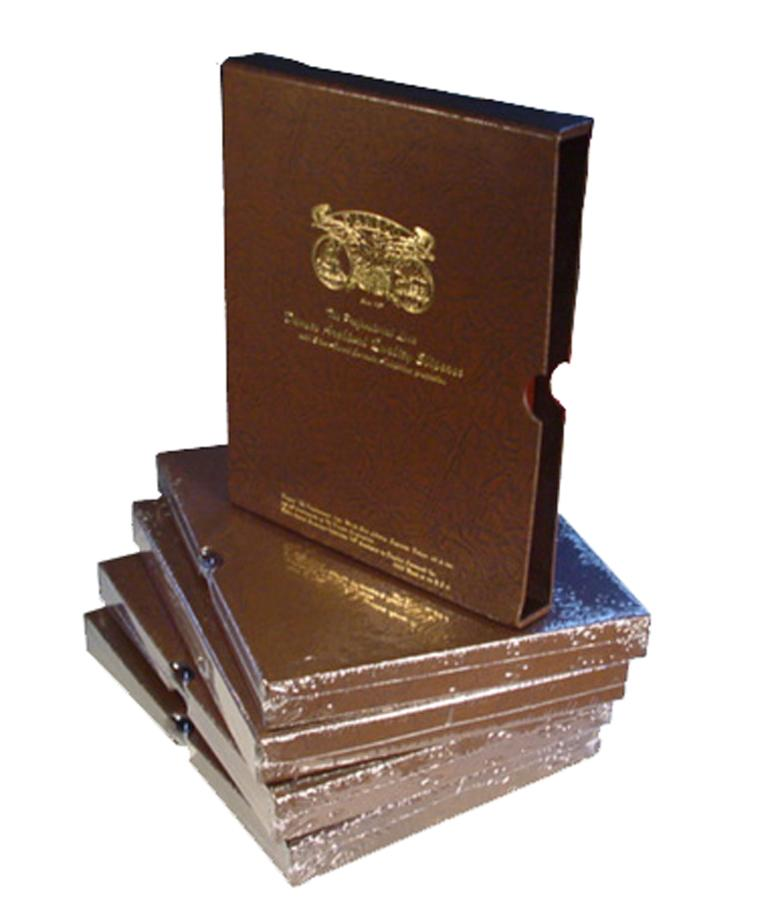 Dansco Slipcase for Albums- 3/4""