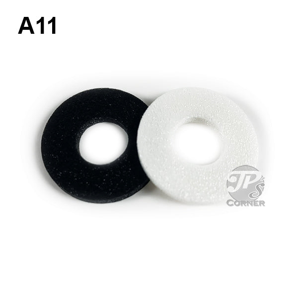 "11mm Air-Tite ""A"" Foam Rings  - Choice of 10 count or 50 count"
