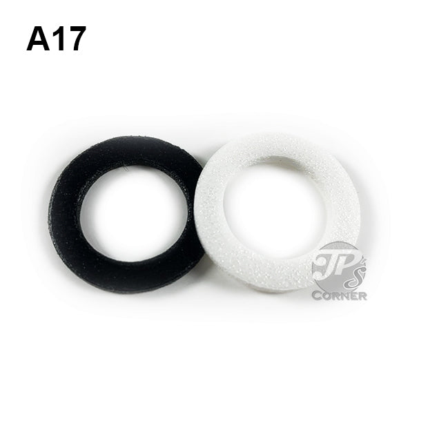 "17mm Air-Tite ""A"" Foam Rings - Choice of 10 count or 50 count"